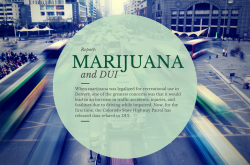 Marijuana and DUI in Denver: Still a Work in Progress